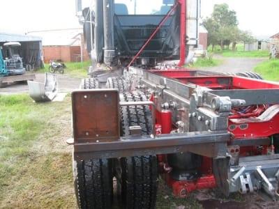 abrasive blasting mack truck sydney after