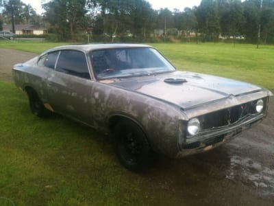 Paint Strip Ford Charger Dustless Blasting After - Sodatec