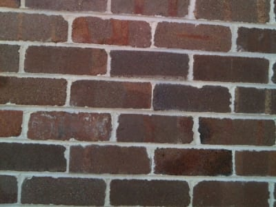 soda blasting brick cleaning after