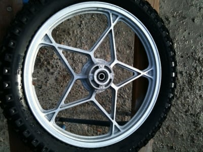 Soda Blasting Mag Wheel Sydney After - How to Restore Car Parts