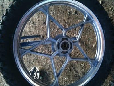 soda blasting mag wheel sydney before