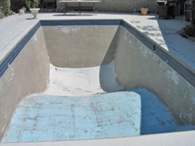 swimming pool restoration sydney before