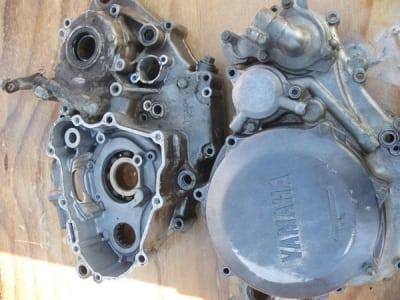 yamaha engine parts soda blasting before